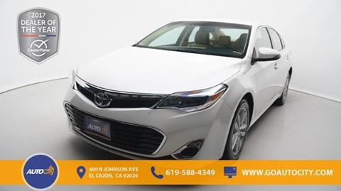 2014 Toyota Avalon for sale in El Cajon, CA