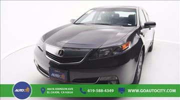 2012 Acura TL for sale in El Cajon, CA
