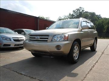 2005 Toyota Highlander for sale in Winona, MS