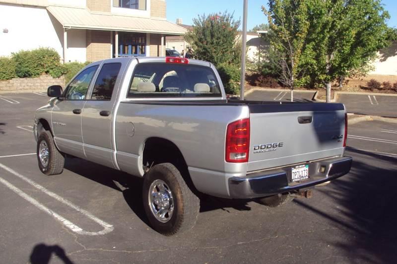 2004 Dodge Ram Pickup 2500 4dr Quad Cab SLT 4WD SB - Roseville CA