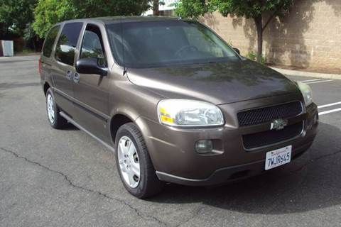 2007 Chevrolet Uplander for sale in Roseville, CA