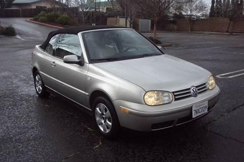 2001 Volkswagen Cabrio for sale in Roseville, CA