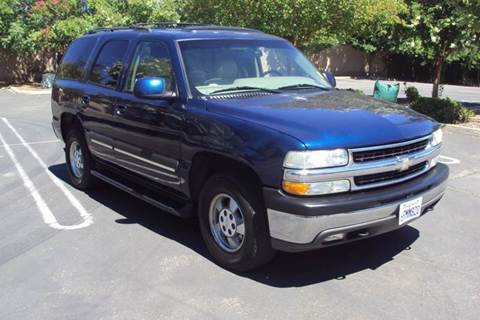 2001 Chevrolet Tahoe for sale in Roseville, CA