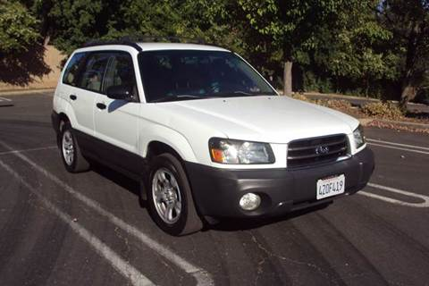 2003 Subaru Forester for sale in Roseville, CA