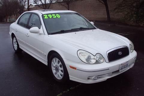 2002 Hyundai Sonata for sale in Roseville, CA
