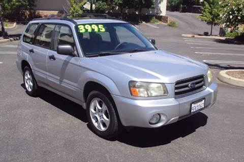 2004 Subaru Forester for sale in Roseville, CA