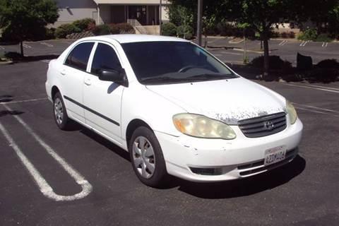 2003 Toyota Corolla for sale in Roseville, CA