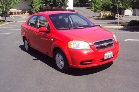 2007 Chevrolet Aveo for sale in Roseville, CA