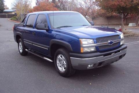 2003 Chevrolet Avalanche for sale in Roseville, CA