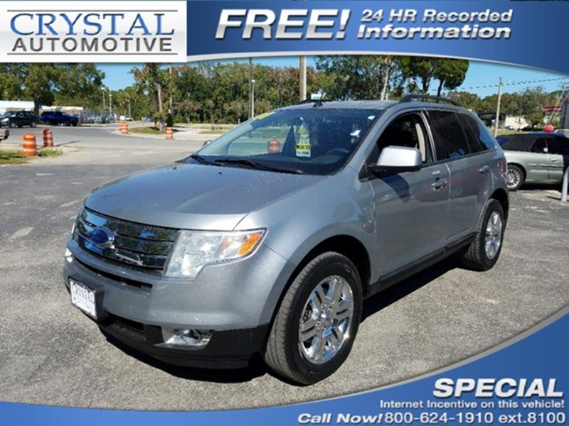 Ford Edge Awd Sel Plus Dr Crossover Spring Hill Fl