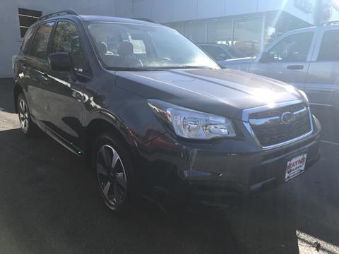 2017 Subaru Forester for sale in Wayne NJ