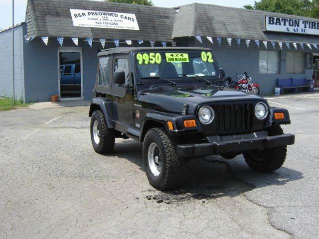 2002 Jeep Wrangler for sale in Granite Falls NC