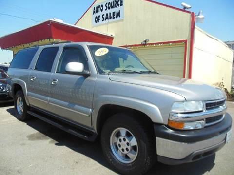 2002 Chevrolet Suburban for sale in Salem, OR