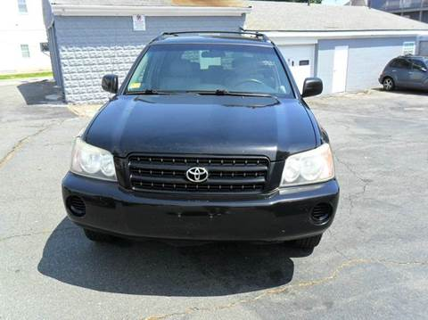 2003 Toyota Highlander for sale in South Dartmouth MA