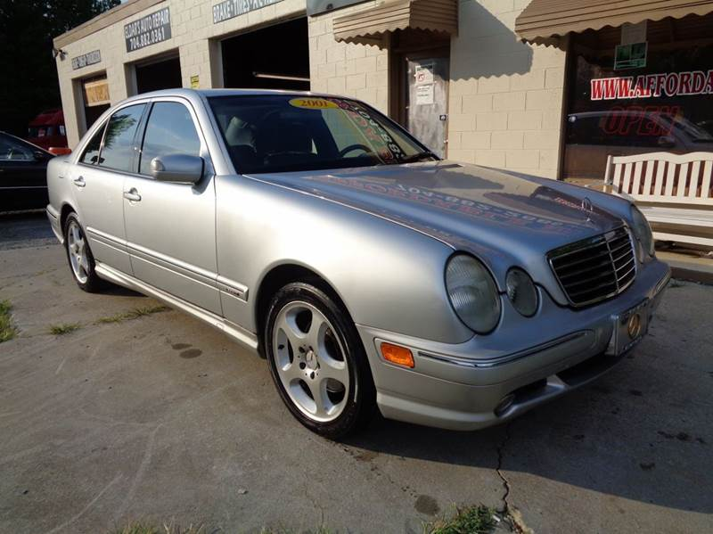 Gas mileage for 2001 mercedes e430 for Mercedes benz 2001 e430