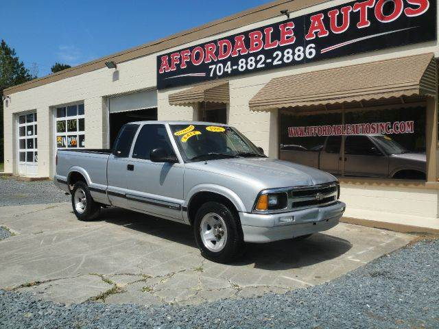 Used Cars For Sale In Nh >> Used 1996 Chevrolet S10 LS Ext. Cab Short Bed 2WD in Indian Trail NC at Affordable Autos ...