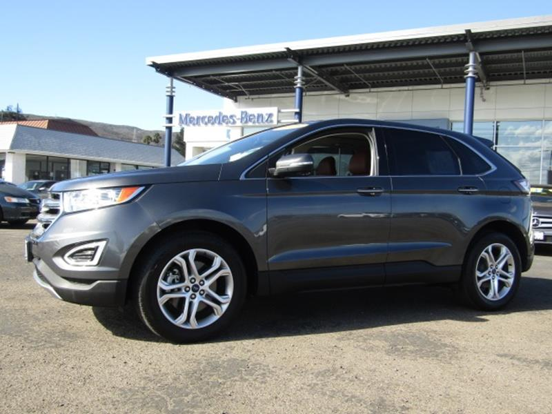 ford edge for sale in san luis obispo ca. Black Bedroom Furniture Sets. Home Design Ideas