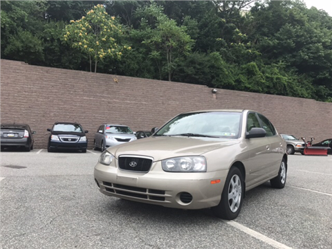 2002 Hyundai Elantra for sale in Norristown, PA