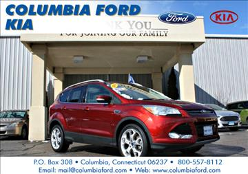 2014 Ford Escape for sale in Columbia, CT