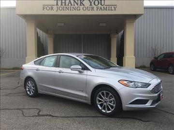 2017 Ford Fusion Hybrid for sale in Columbia, CT