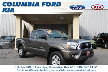 2012 Toyota Tacoma for sale in Columbia, CT