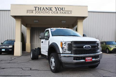 2017 Ford F-550 for sale in Columbia, CT