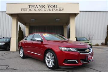 2014 Chevrolet Impala for sale in Columbia, CT