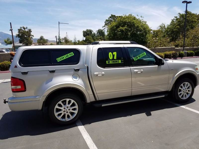2007 Ford Explorer Sport Trac Limited 4dr Crew Cab V8 In Yucaipa Ca