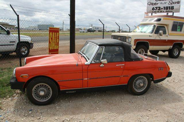 used 1979 mg midget convertible for sale. Black Bedroom Furniture Sets. Home Design Ideas