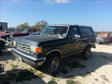 1989 Ford Bronco For Sale  Carsforsalecom