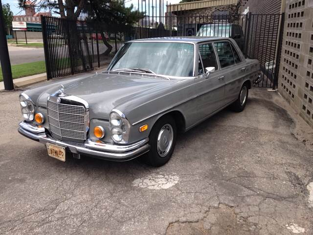 1972 mercedes benz 280sel in wichita ks autohouse stuttgart for Mercedes benz wichita ks