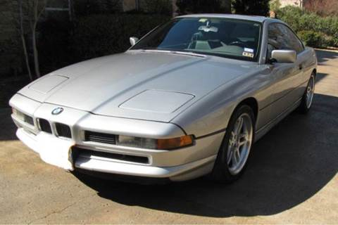 1991 Bmw 8 Series For Sale