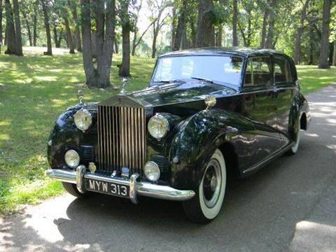 1952 Rolls-Royce Wraith 4dr