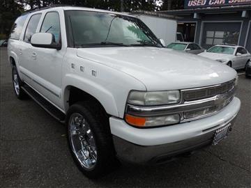 2001 Chevrolet Suburban for sale in Lynnwood, WA