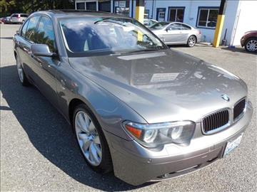 2005 BMW 7 Series for sale in Lynnwood, WA