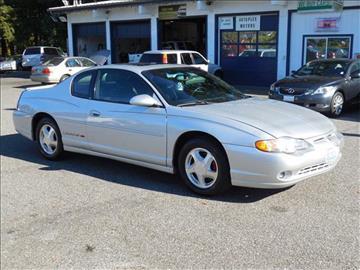 2001 Chevrolet Monte Carlo For Sale Conway Sc