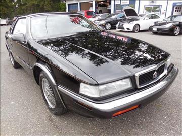 1991 Chrysler Tc For Sale