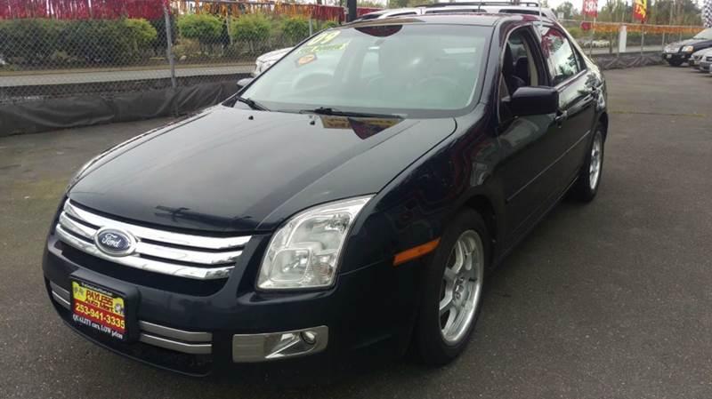 2009 Ford Fusion V6 SEL 4dr Sedan - Federal Way WA