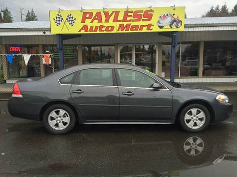 2011 Chevrolet Impala for sale in Federal Way, WA