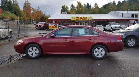 2009 Chevrolet Impala for sale in Federal Way, WA