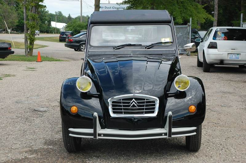 1981 CITROEN 2CV BLACK BEAUTY - Midland MI
