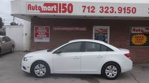 2012 Chevrolet Cruze for sale in Council Bluffs, IA