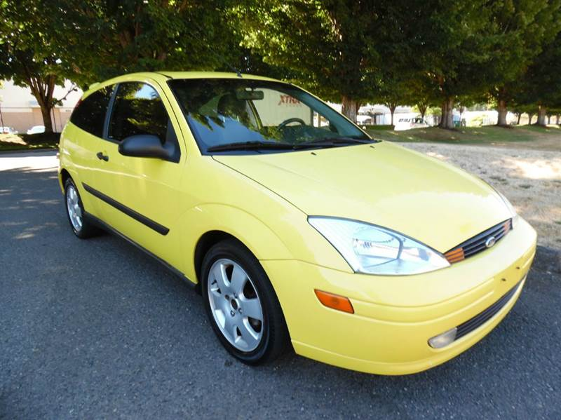 2001 ford focus zx3 2dr hatchback in algona wa gas for West valley motor vehicle