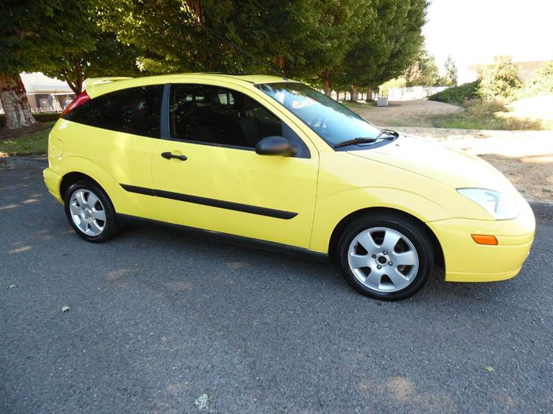 2001 Ford focus lx gas mileage