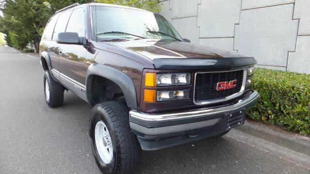 1997 Gmc Yukon Slt 4dr 4wd Suv In Algona Auburn Tacoma Gas