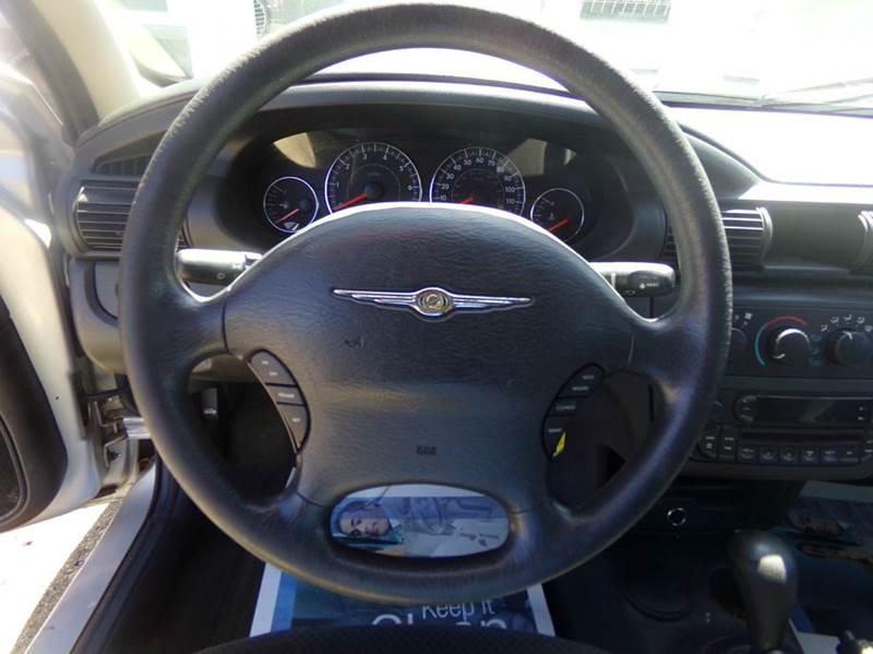 2005 Chrysler Sebring 4dr Sedan - Tilton NH