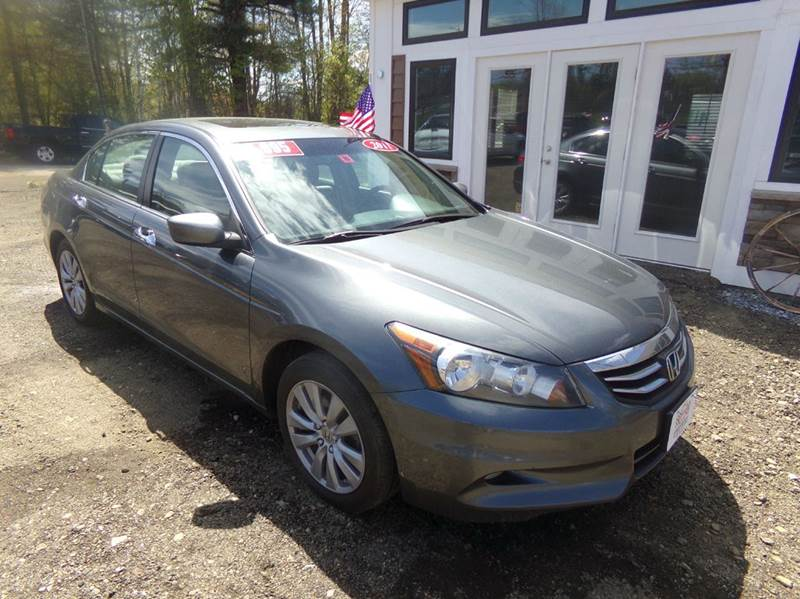 2011 Honda Accord EX-L V6 4dr Sedan w/Navi - Tilton NH