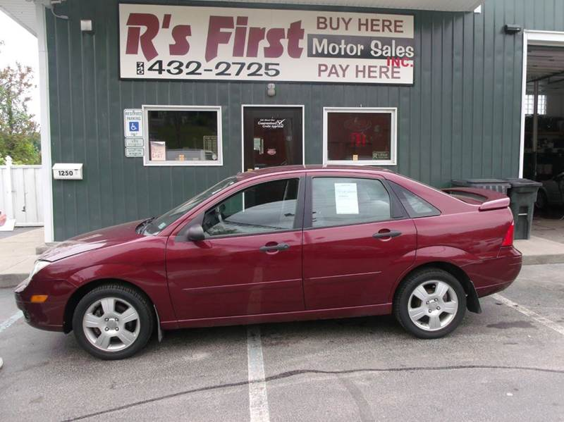 2007 ford focus zx4 se 4dr sedan in cambridge oh r 39 s. Black Bedroom Furniture Sets. Home Design Ideas