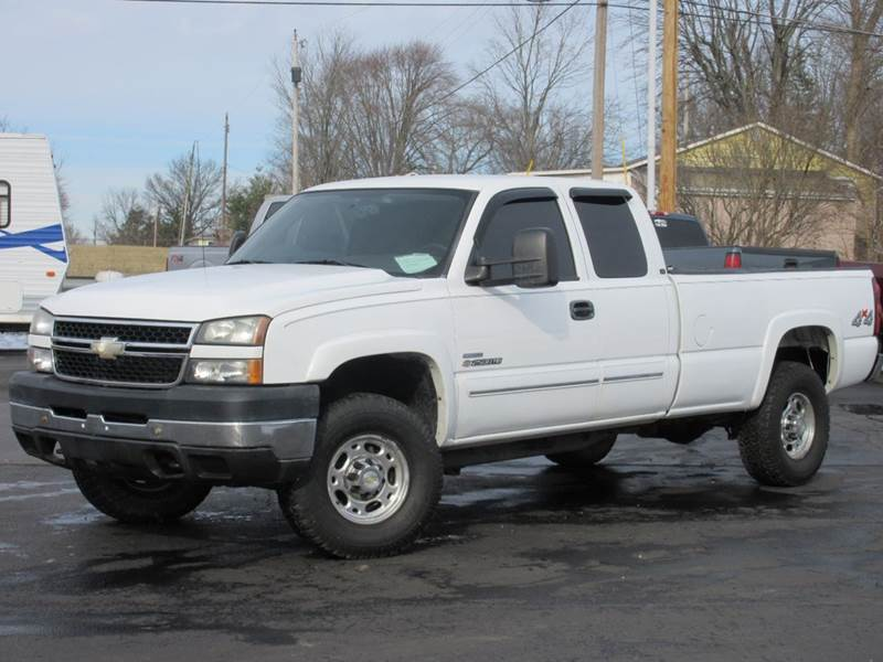 2006 chevrolet silverado 2500hd lt1 4dr extended cab 4wd lb in baltimore oh the car company. Black Bedroom Furniture Sets. Home Design Ideas
