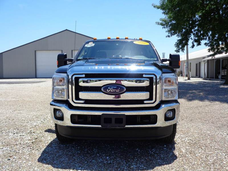 2016 Ford F-350 Super Duty 4x4 XLT 4dr Crew Cab 8 ft. LB DRW Pickup - Edina MO